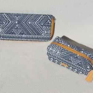 🆕 Silpada Designer Sample Mustard Aztec Geo Set